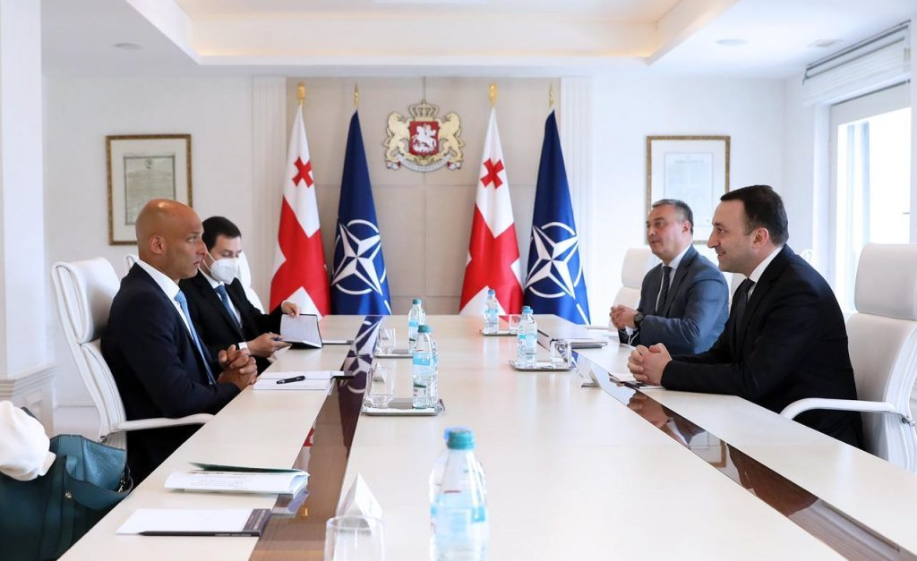 Georgian PM meets NATO SG Special Representative