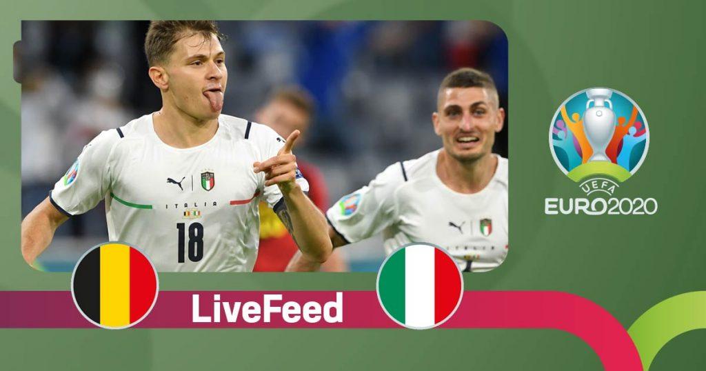იტალიამ ბელგიას სძლია და ნახევარფინალში ესპანეთს დაუპირისპირდება [ვიდეო] #1TVSPORT
