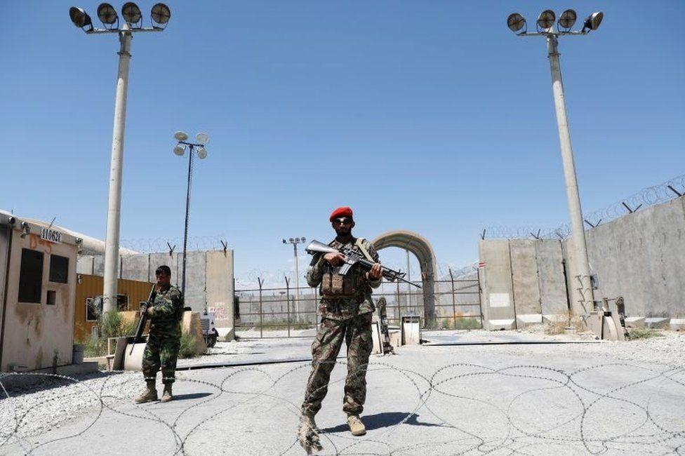 """ამერიკის შეერთებულმა შტატებმა """"ბაგრამის"""" ავიაბაზა ავღანეთის ხელისუფლებას გადასცა"""