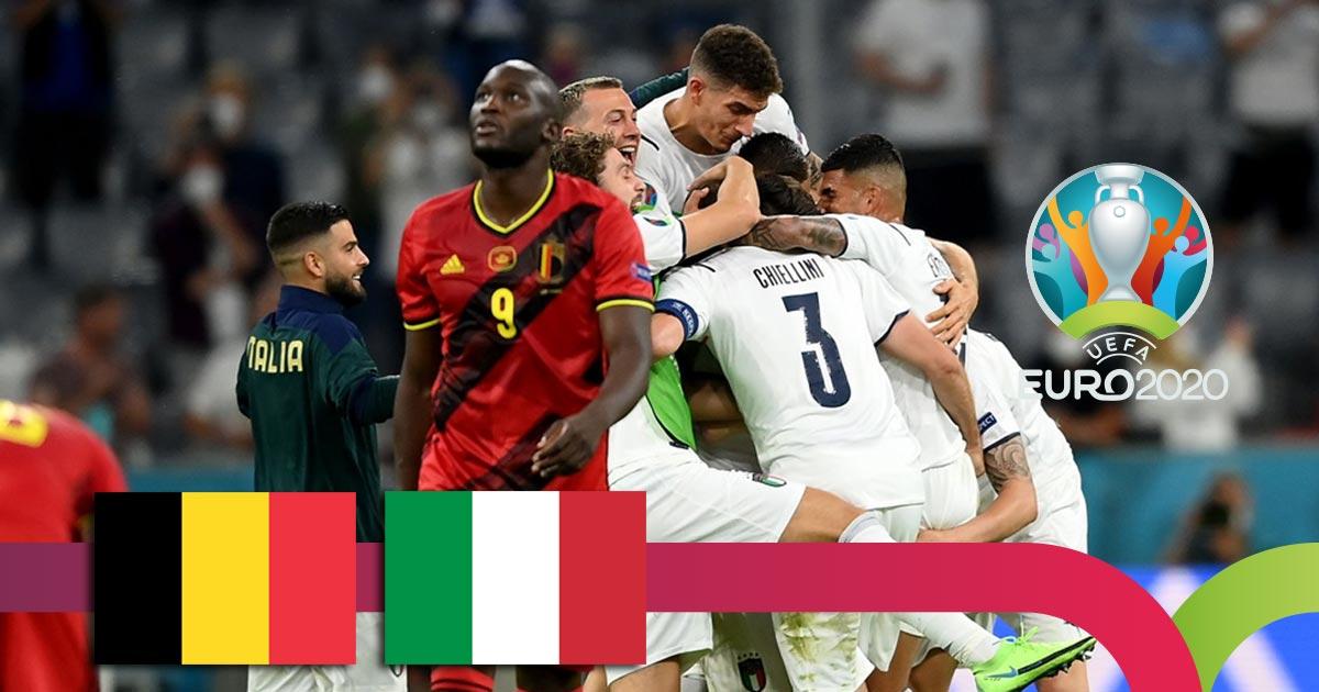 ევრო 2020 | ბელგია VS იტალია - მატჩის საუკეთესო მომენტები [ვიდეო] #1TVSPORT
