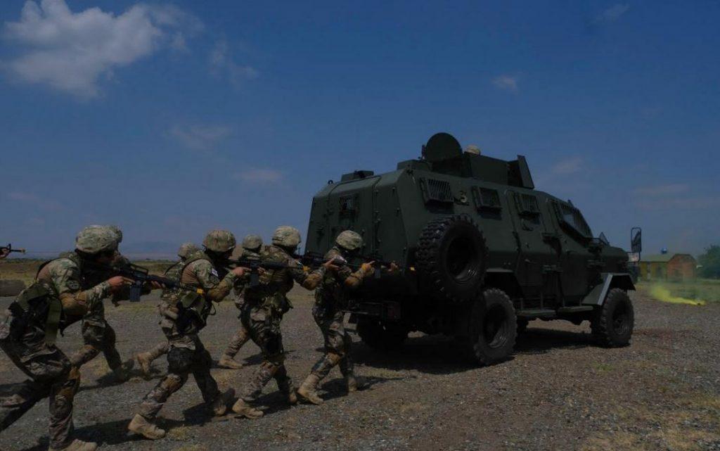 სამხედრო პოლიციის დეპარტამენტის ოცეულმა SNGP-ის ფარგლებში საველე-სიტუაციური წვრთნები გამართა