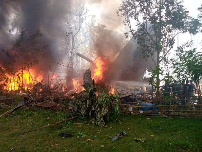 ფილიპინებში ავიაკატასტროფის შედეგად 17 სამხედრო მოსამსახურე დაიღუპა