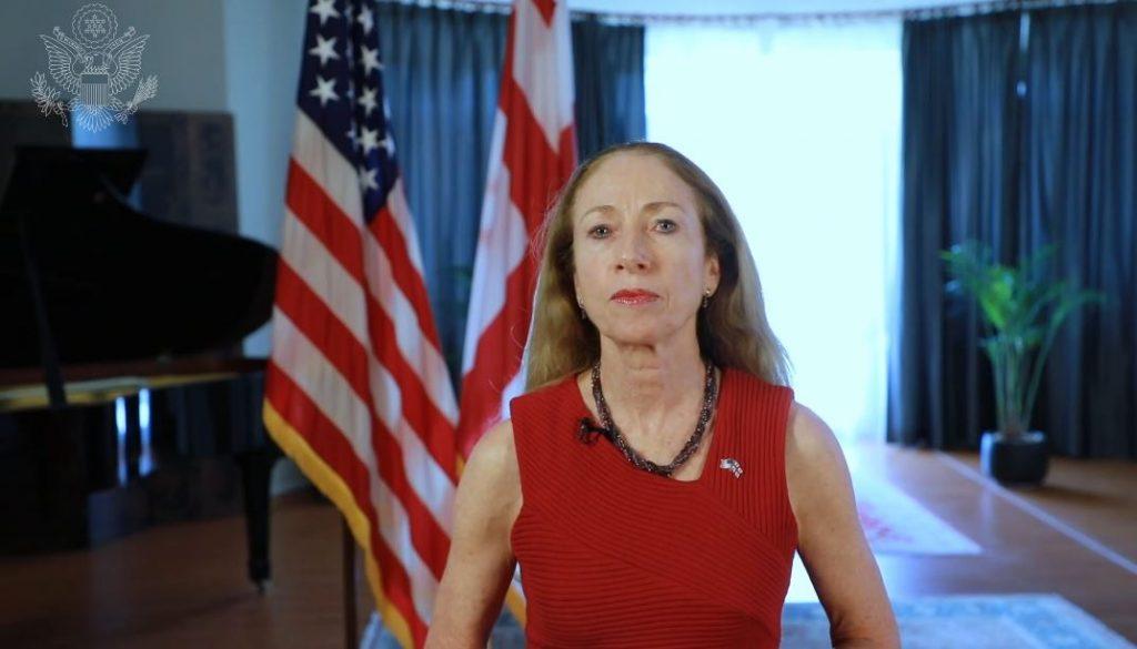 Келли Дегнан - Между грузинами и американцами существует сильная связь
