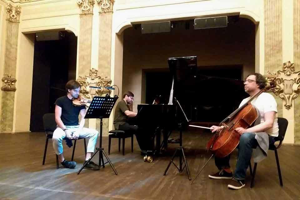 """პიკის საათი - """"მიდელჰაიმი"""" - გია ყანჩელის საფორტეპიანოტრიოს მსოფლიო პრემიერა თბილისში!"""