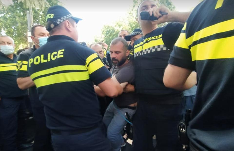 GPB cameraman injured during anti-Pride rally (VIDEO)