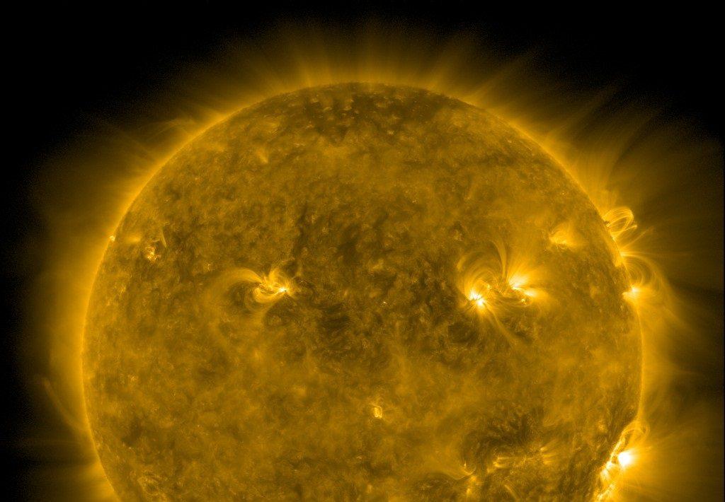 მზეზე 2017 წლის შემდეგ ყველაზე ძლიერი ამოფრქვევა მოხდა — #1tvმეცნიერება