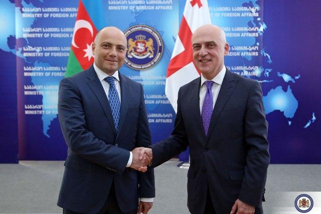 Georgian FM meets Azerbaijani Culture Minister