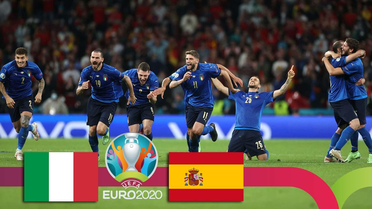 ევრო 2020 | იტალია VS ესპანეთი - მატჩის საუკეთესო მომენტები [ვიდეო] #1TVSPORT