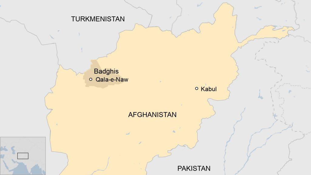 """""""თალიბანი"""" ავღანეთის ბადღისის რეგიონის მთავარ ქალაქ ქალა-ე-ნავში შევიდა"""