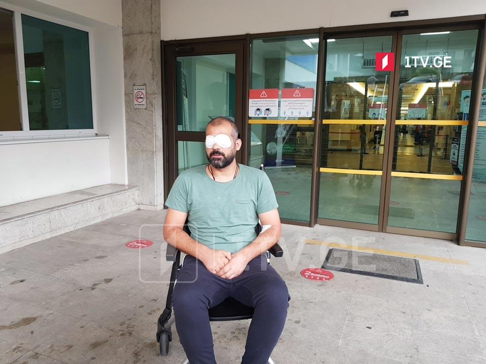 Injured GPB cameraman discharged