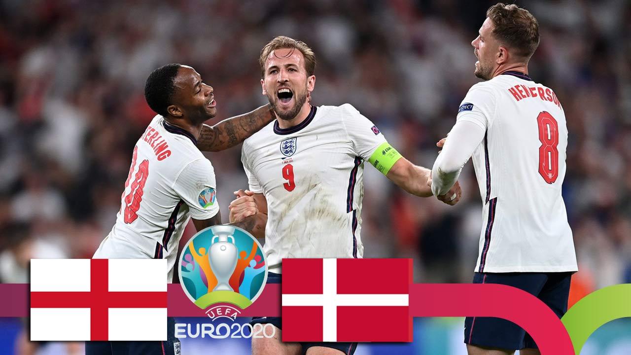 ევრო 2020 | ინგლისი VS დანია - მატჩის საუკეთესო მომენტები [ვიდეო] #1TVSPORT