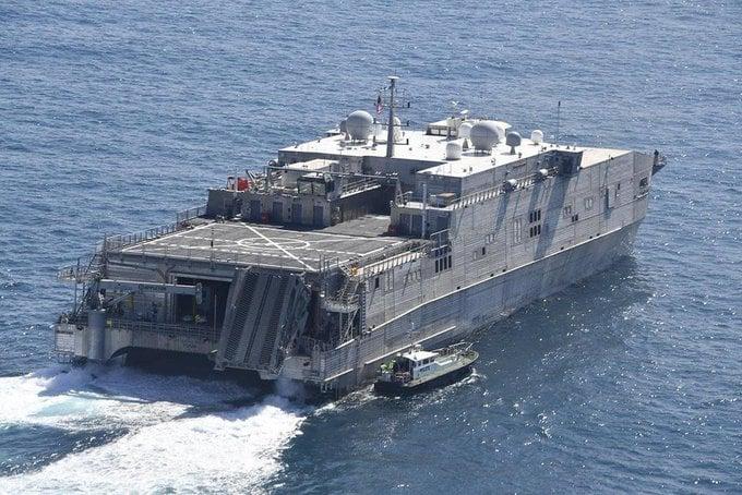 აშშ-ის სამხედრო-საზღვაო ძალების სწრაფმავალმა ხომალდმა შავი ზღვის მიმართულებით დაიწყო ცურვა