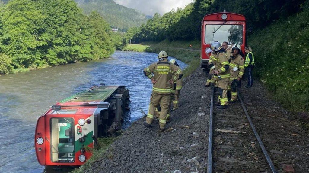 ავსტრიაში სარკინიგზო ავარია მოხდა, არიან დაშავებულები