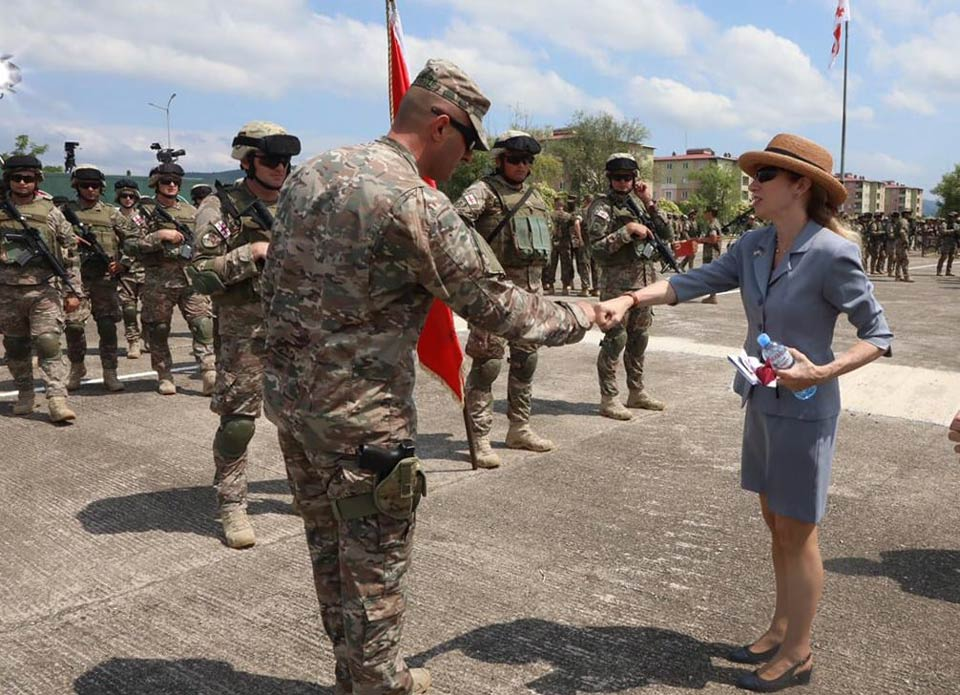 US servicemen honour to serve with Georgian troops, US Embassy says