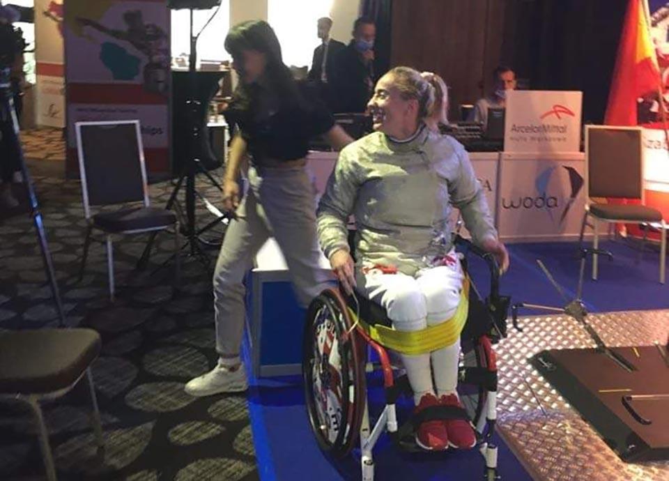 Ирма Хецуриани - обладательница Кубка мира