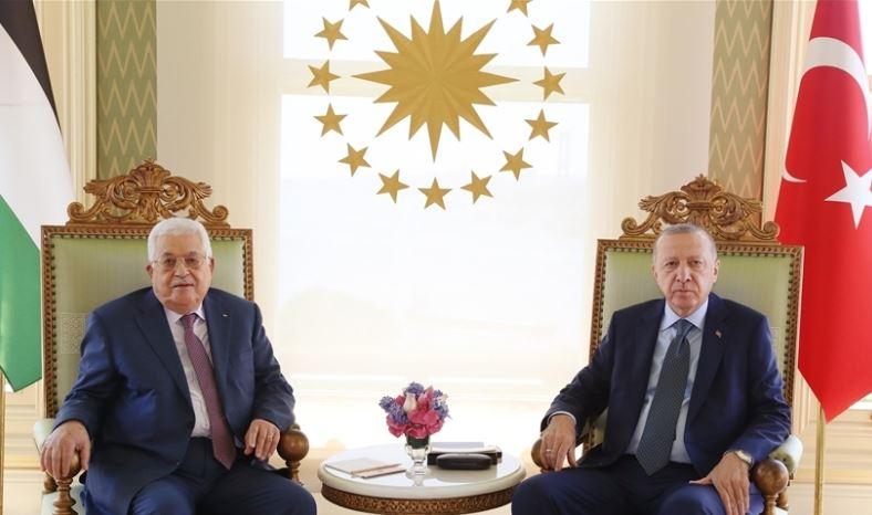 სტამბოლში თურქეთის პრეზიდენტისა და პალესტინელთა ლიდერის შეხვედრა გაიმართა