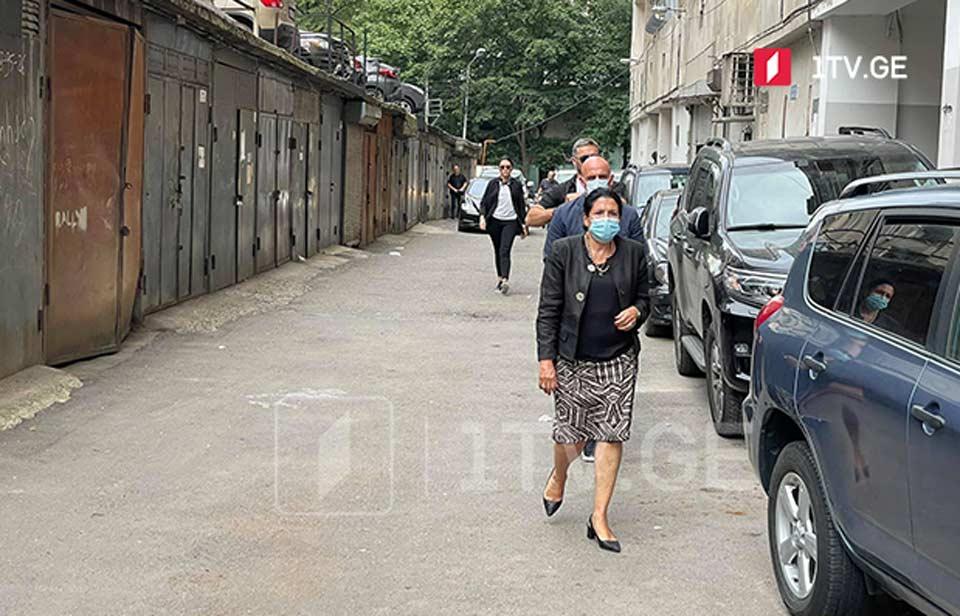 Саломе Зурабишвили лично выразила соболезнования семье кинооператора Лексо Лашкарава