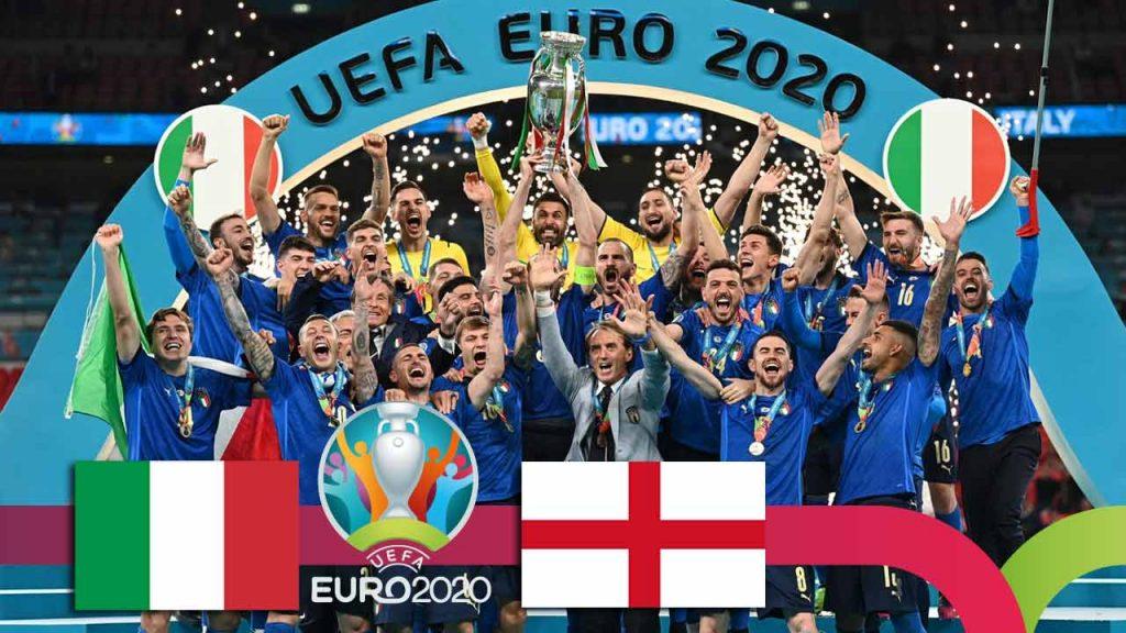ევრო 2020   იტალია VS ინგლისი - მატჩის საუკეთესო მომენტები [ვიდეო] #1TVSPORT