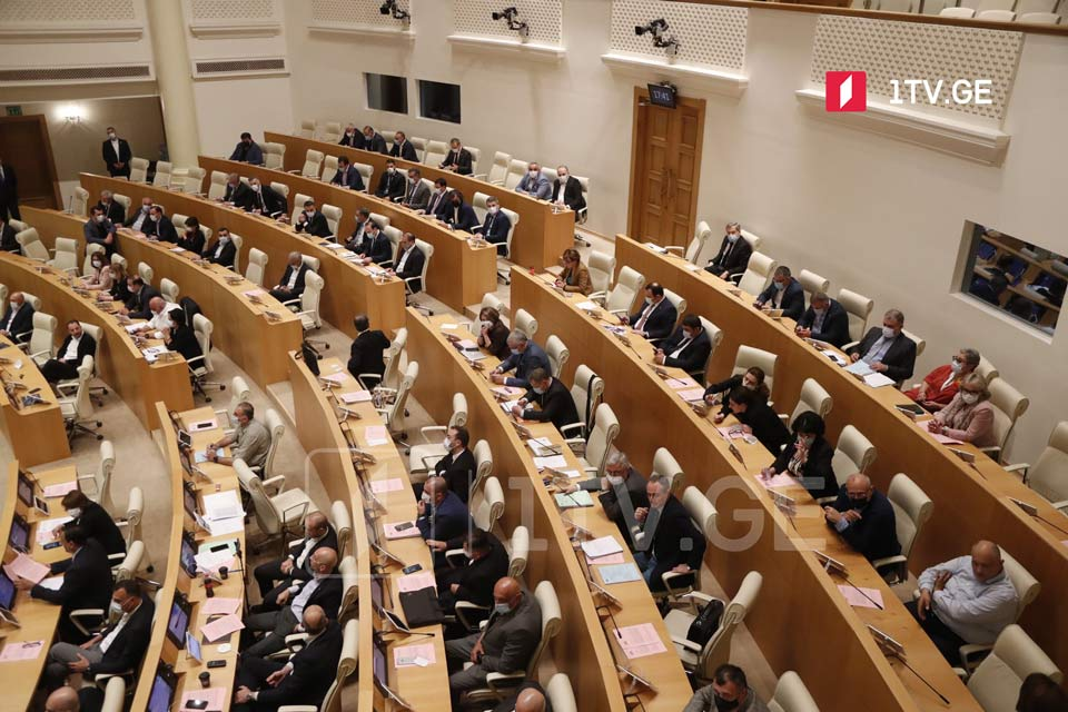 Opposition walks out of parliamentary session in protest