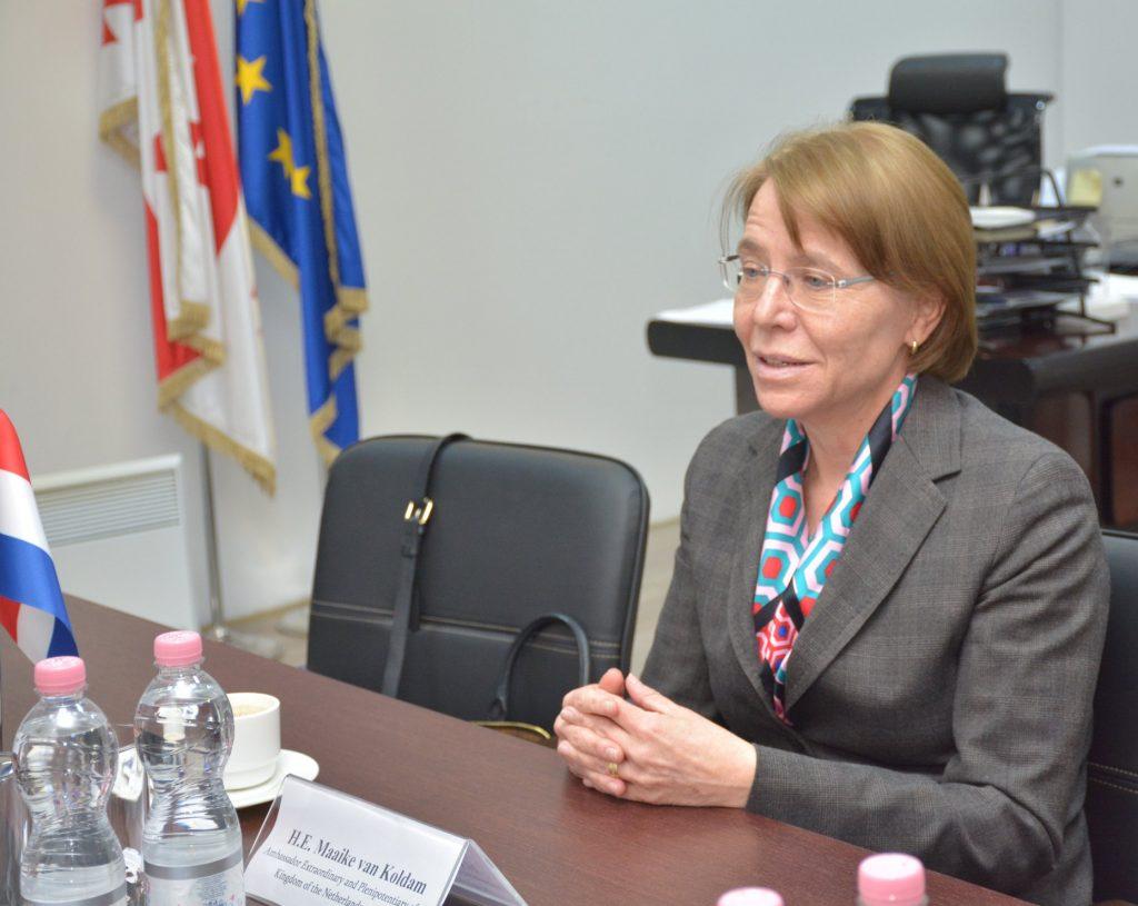 Посол Нидерландов - На встрече в МВД Грузии выразила обеспокоенность насилием в отношении активистов и журналистов 5 июля