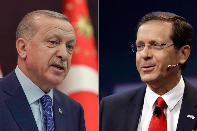 თურქეთისა და ისრაელის პრეზიდენტებმა სატელეფონო საუბარი გამართეს