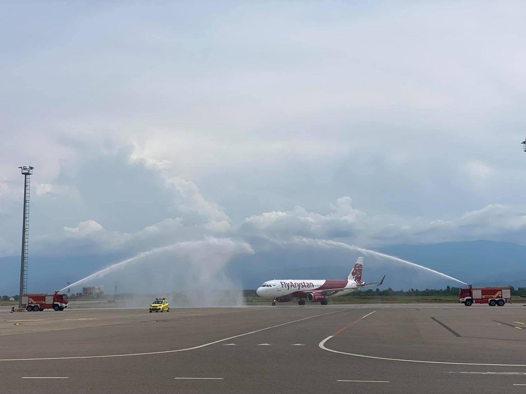 ავიკიაკომპანია FlyArystan ქუთაისის აეროპორტიდან მეოთხე მიმართულებას ამატებს