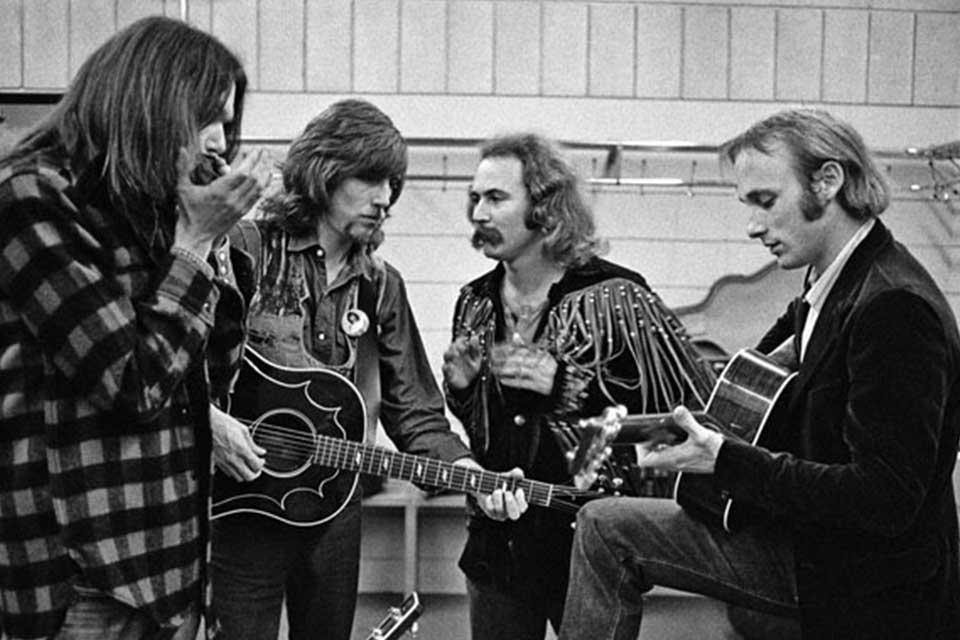 მთელი ეს როკი - განუმეორებელი Crosby, Stills, Nash & Young& ცოტა რამ ნაცნობი სიმღერების წარსულის შესახებ
