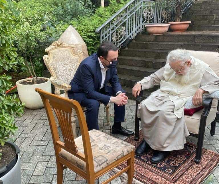 ირაკლი ღარიბაშვილი - პატრიარქთან ვისაუბრე მნიშვნელოვან საკითხებზე, რაც ხალხს აწუხებს, მოვისმინე მისი რჩევები და მოსაზრებები, რომელიც ყოველთვის სასარგებლო და გასათვალისწინებელია