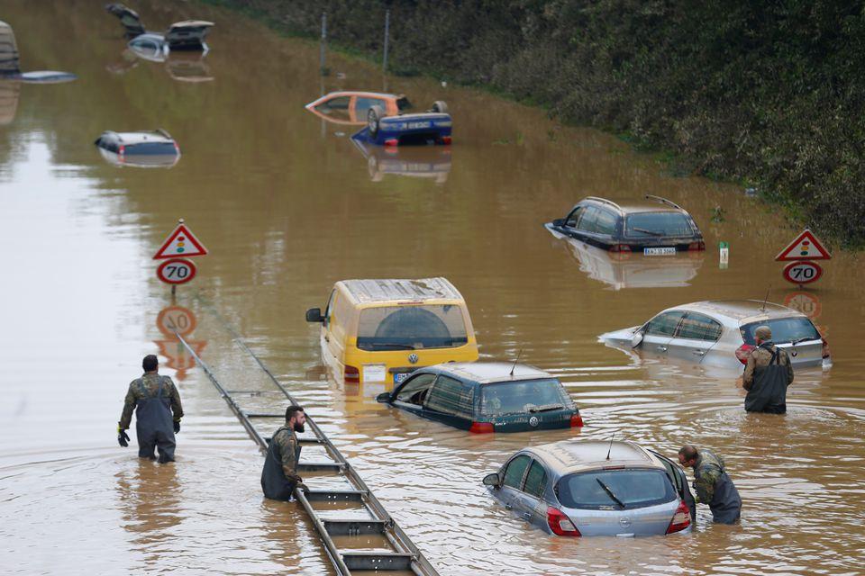 ევროპაში წყალდიდობის შედეგად დაღუპულთა რიცხვი 168-მდე გაიზარდა