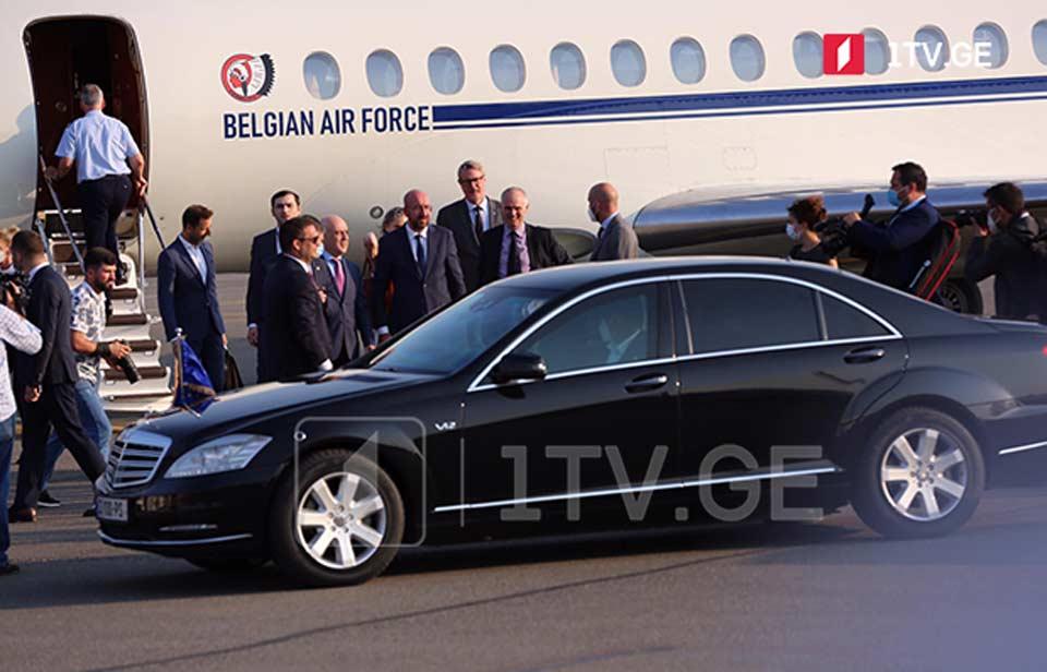 European Council President arrived in Georgia