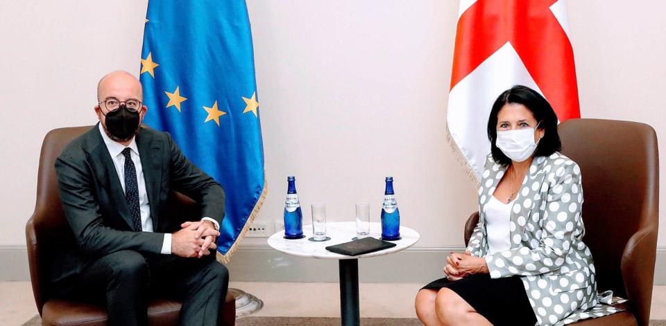 Саломе Зурабишвили - Больше ЕС в Грузии - сильный сигнал для нашего прогресса и развития
