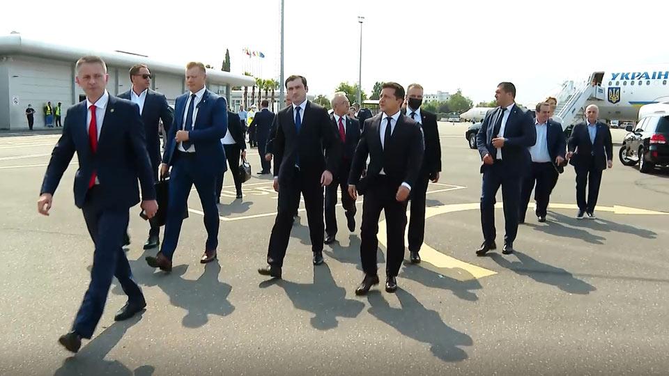 Ուկրաինայի նախագահ Վլադիմիր Զելենսկին ժամանել է Բաթումի
