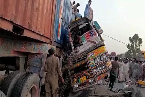 პაკისტანში ავტოსაგზაო შემთხვევის შედეგად 34 ადამიანი დაიღუპა