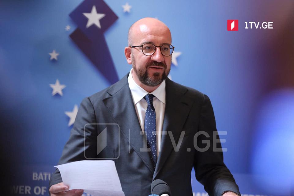 Distance between EaP societies and EU to shrink in unprecedented ways in one generation,EC President says