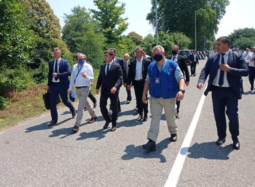 მარეკ შჩიგელი - მადლობელი ვარ უკრაინის პრეზიდენტის მხრიდან საქართველოში ევროკავშირის სადამკვირვებლო მისიის მუშაობით დაინტერესებისთვის
