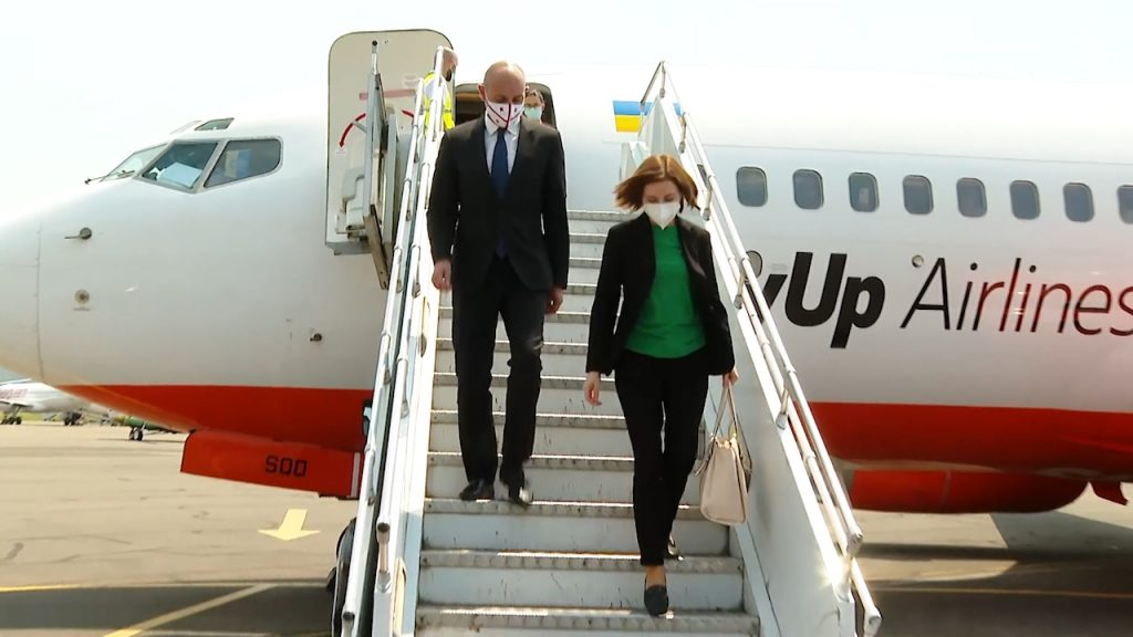 Moldovan President arrived in Batumi to attend Int'l Conference