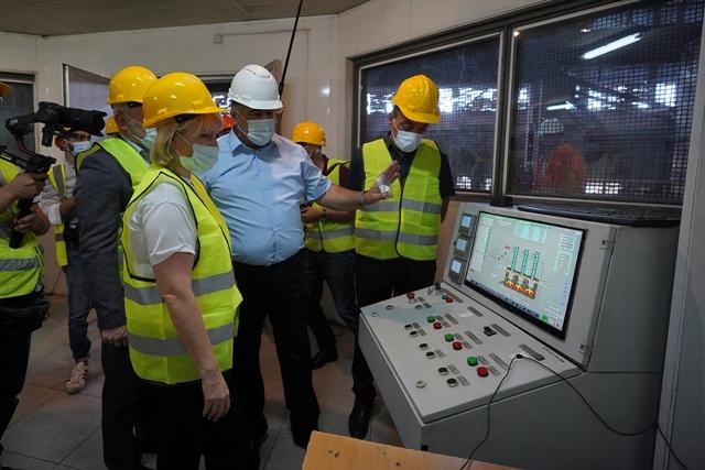 ნათია თურნავა - მისასალმებელია, რომ ზესტაფონის ფეროშენადნობთა ქარხანაში, პანდემიის მიუხედავად, შიდა ინვესტიციით საწარმო გაძლიერდა და ახალი ღუმელი ამოქმედდა