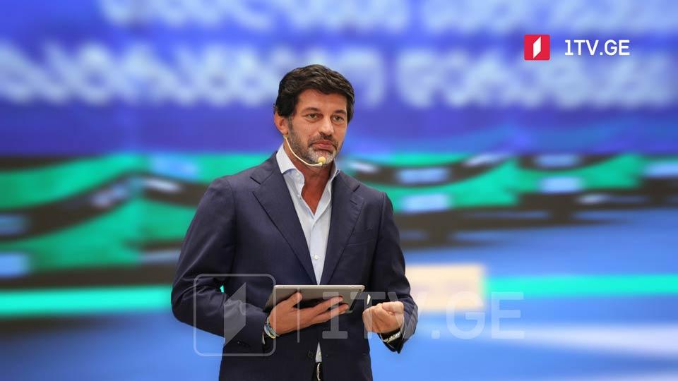 GD picks incumbent Tbilisi Mayor Kakha Kaladze to run for mayor