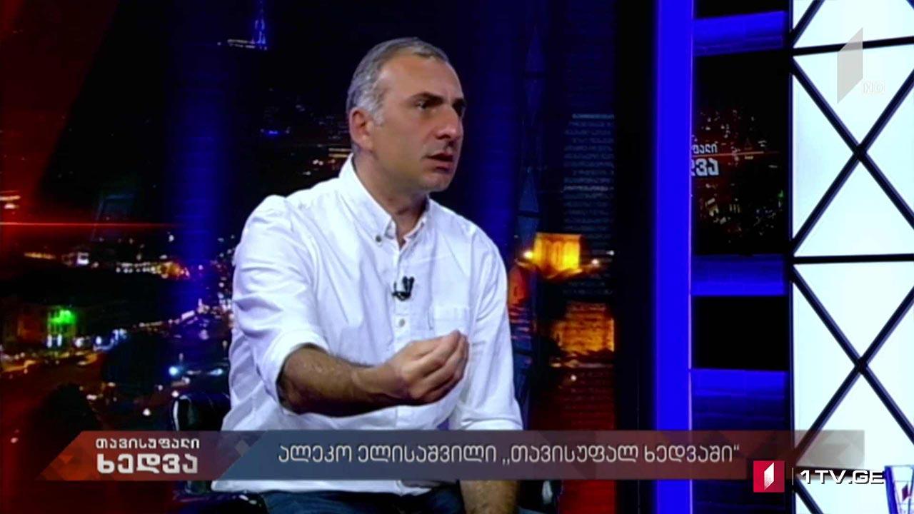 """ალეკო ელისაშვილი """"თავისუფალ ხედვაში"""""""