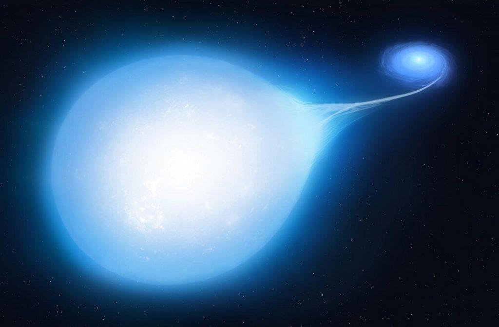 ჩვენს კოსმოსურ სამეზობლოში, ერთმანეთის გარშემო მოძრავი ორი ვარსკვლავი აფეთქებას უახლოვდება — #1tvმეცნიერება