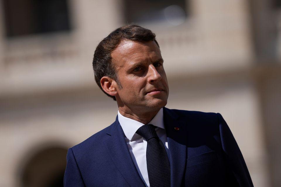 """საფრანგეთის პრეზიდენტი ჯაშუშურ პროგრამა """"პეგასუსთან"""" დაკავშირებით თავდაცვის საბჭოს იწვევს"""
