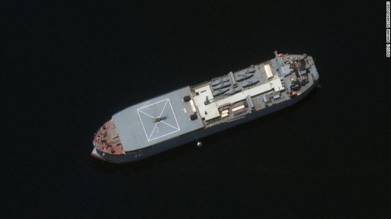 მედიის ცნობით, ორი ირანული ხომალდი ბალტიის ზღვაშია და პეტერბურგს უახლოვდება