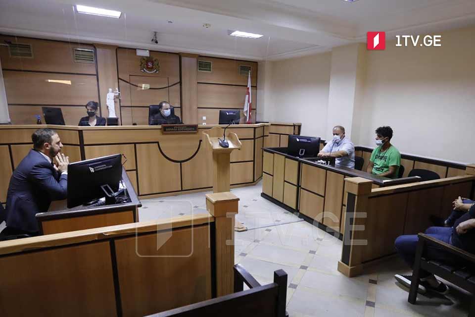 სასამართლომ საქართველოს პირველი არხის ოპერატორის მიმართ ძალადობის საქმეზე დაკავებულს აღკვეთის ღონისძიებად პატიმრობა შეუფარდა