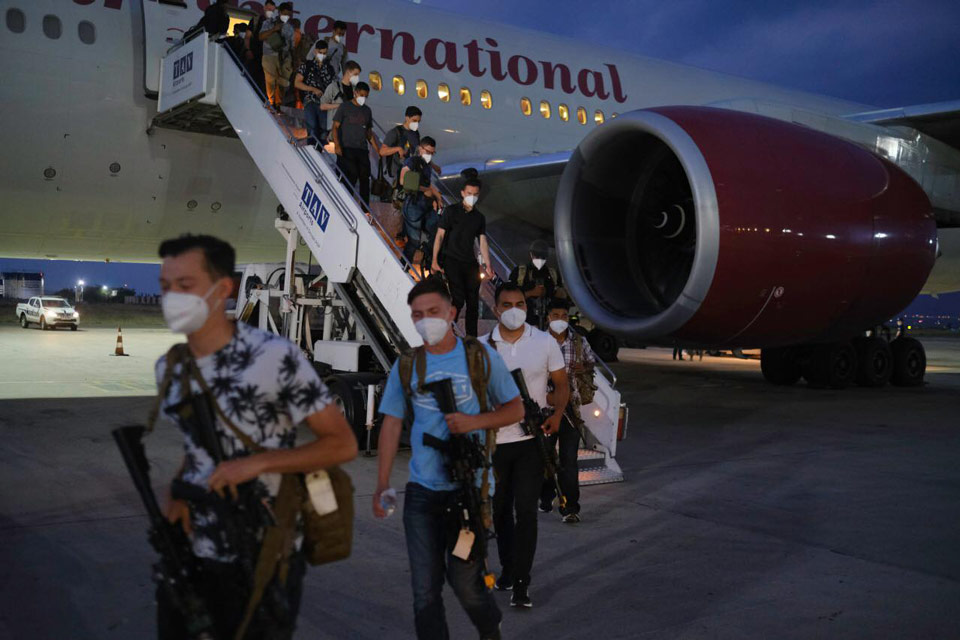 US soldiers arrive in Georgia to participate in Agile Spirit 2021