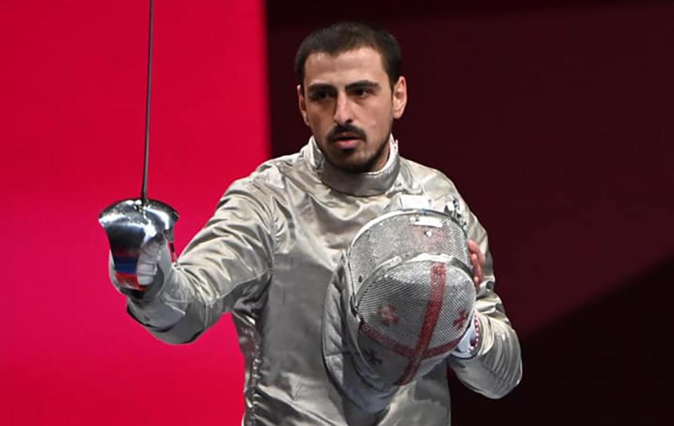 Саблист Сандро Базадзе вышел в полуфинал Токио-2020