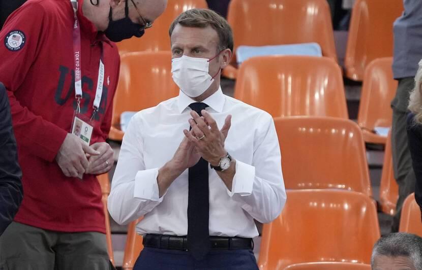 ტოკიო 2020 | საფრანგეთის პრეზიდენტი ლუკა მხეიძეს მედალს ულოცავს - ქვეყანა, რომელიც აირჩიე, შენით ამაყობს #1TVSPORT