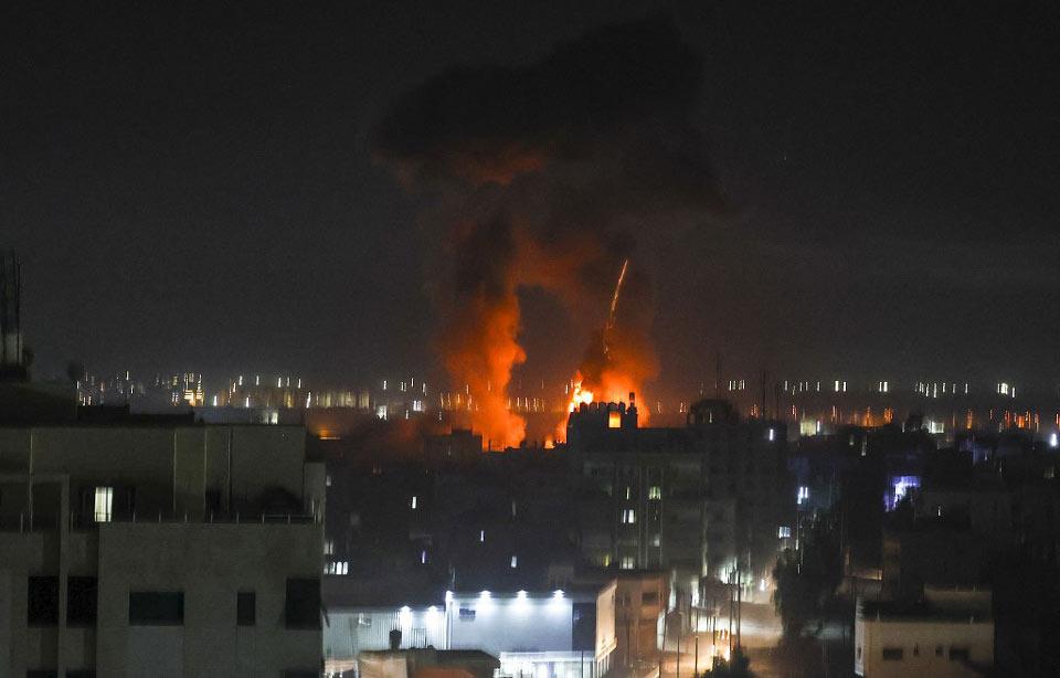 ისრაელის სამხედრო ავიაციამ ღაზაში პალესტინური სამხედრო ჯგუფების ობიექტები დაბომბა