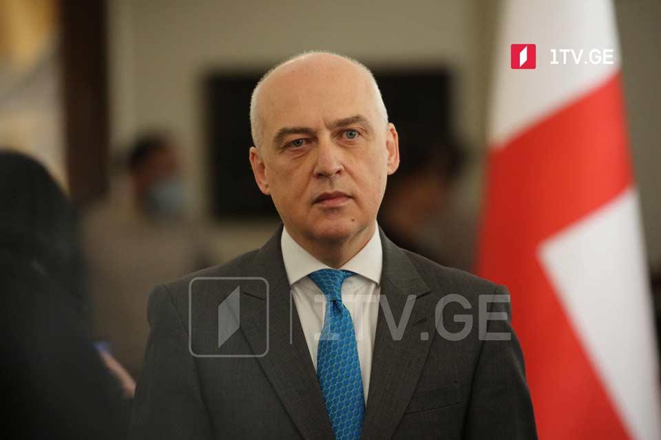 Давид Залкалиани поздравил Хавьера Коломина с назначением спецпредставителем генсека НАТО на Южном Кавказе и в Центральной Азии