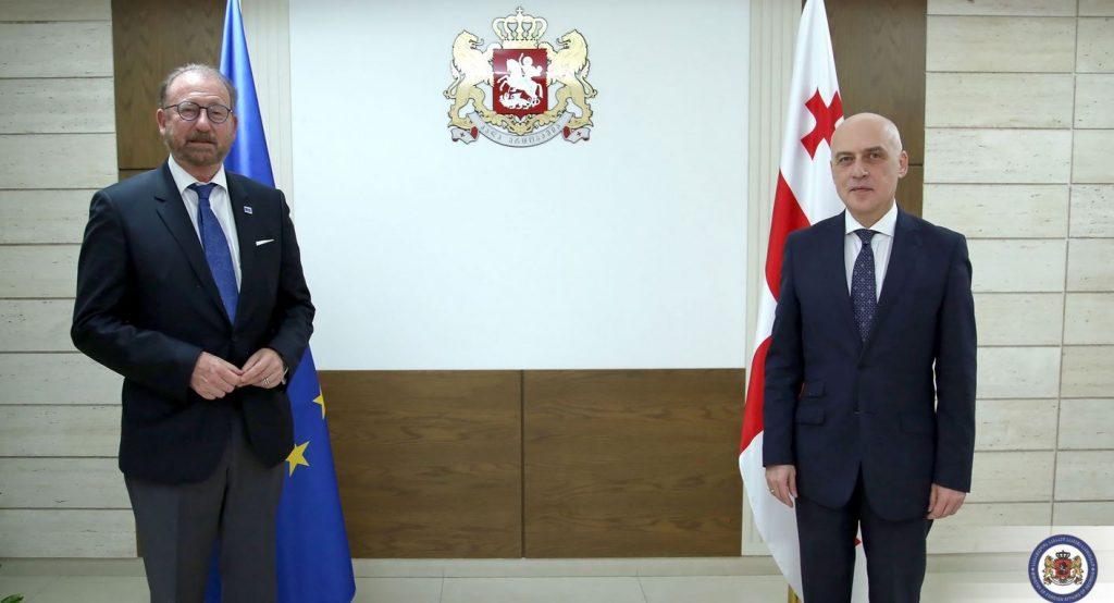 Давид Залкалиани встретился с председателем ПАСЕ