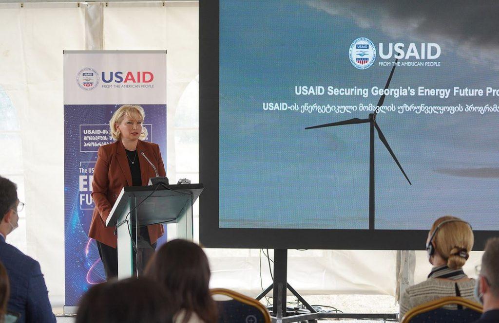 ნათია თურნავა - აშშ-ის დახმარებით ვიწყებთ ხუთწლიან პროგრამას ჩვენი ენერგოდამოუკიდებლობისა და ენერგოუსაფრთხოების უზრუნველყოფისთვის